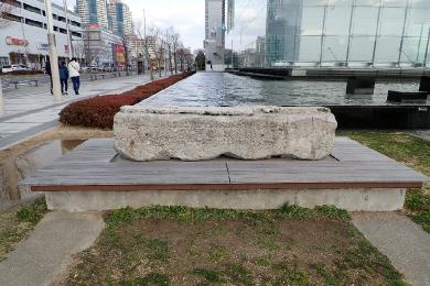 人と防災未来センター【鎮魂の碑・神戸の壁ベンチ】