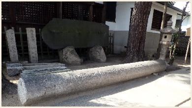 横屋八幡神社【再建鳥居】
