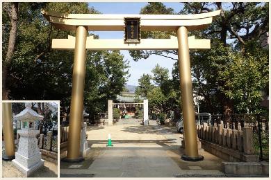 東明八幡神社【再建鳥居】
