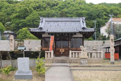 五宮神社【慰霊碑】