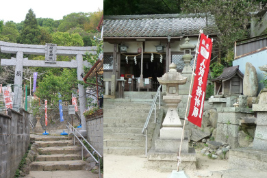 氷室神社【再建鳥居】