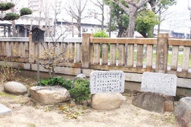 湊八幡神社【再建鳥居・記念碑】