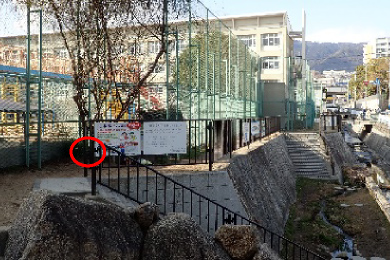 成徳小学校【慰霊銘板「命の輝き」】