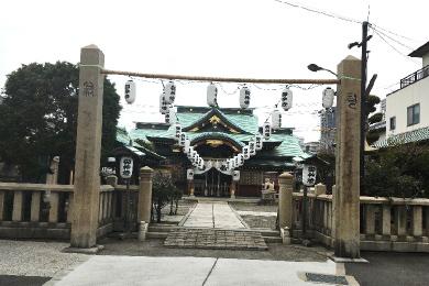 駒林神社【再建鳥居】