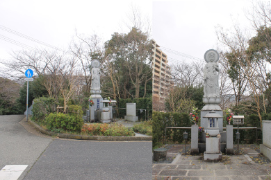 舞子墓園【平和観音像】
